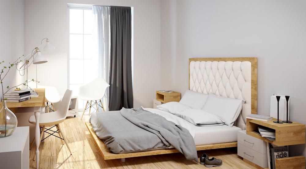 design-camera-albergo-legno-bianco