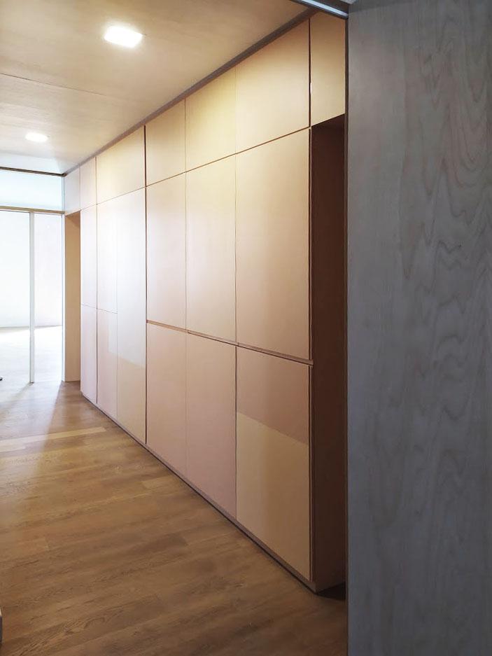 design-corridoio-legno